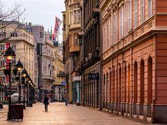 Belgrade (Serbia) - Knez Mihailova Ulica through the photo lens of Yuya Matsuo, a photographer from Japan