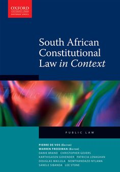 Get South African Constitutional Law in Context at and save up to on your books Constitutional Law, Bill Of Rights, How To Attract Customers, Book 1, Textbook, Management, Public, Politics, African