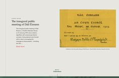 Commemorating and celebrating one hundred years since the first meeting of Dáil Éireann Landing page