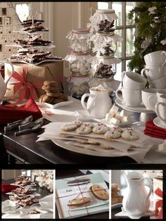 Cookie Exchange Party Idea (from Pottery Barn)