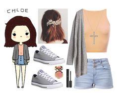 """Chloe!"" by forevercrazyfashiondivas ❤ liked on Polyvore featuring David Yurman, Chanel, xO Design, Converse, Ciaté, women's clothing, women, female, woman and misses"