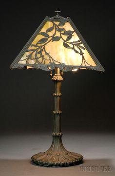 Wilkinson Table Lamp, Brooklyn, New York, early 20th century