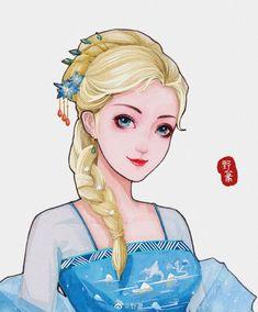 Khi các nàng công chúa Disney xuyên không đến Trung Quốc thời cổ đại Disney And Dreamworks, Disney Pixar, Walt Disney, Disney Characters, Disney Princesses, Pocket Princesses, Disney Princess Pictures, Disney Princess Quotes, Sailor Princess