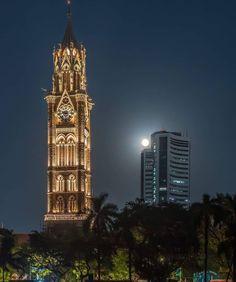 Empire State Building, Mumbai, Big Ben, Tower, India, Travel, Rook, Goa India, Viajes