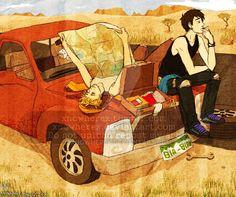 Eternal Summer Slacking by xNoWherex