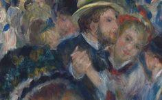 Bal du moulin de la Galette [Dance at Le Moulin de la Galette] is doubtless Renoir's most important work of the mid 1870's and was shown at the Impressionist exhibition in 1877.