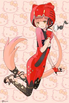 Iroha Nekomura <3 :D KAWAII!!!! She is such an awesome vocaloid and is a great version of Hello Kitty :) I just wish she got as much attention as Miku and Luka...