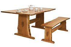 Sherwood Table and Bench