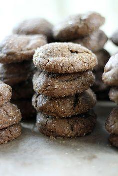 Blue Kale Road: Molasses Spice Cookies