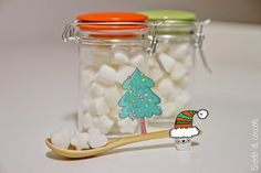 Zollette di zucchero fai da te Christmas Love, Christmas Gifts, Birthday Souvenir, Jar Gifts, Food Humor, Diy Projects To Try, Holidays And Events, Kids Meals, Diy Crafts