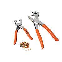 Compra Online en Easy.cl: Set 2piezas ojetillo + remachad con 100 ojetillos  YJTS 424A KRESS