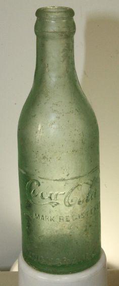 Augusta GA Straight Side Coca Cola Bottle