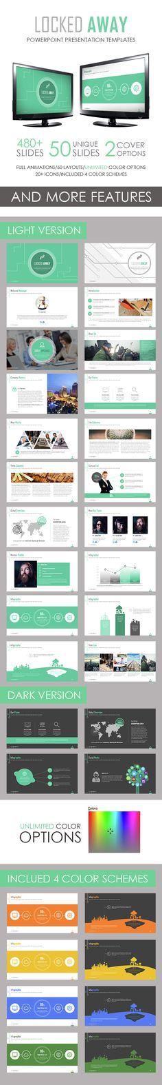 Locked Away Powerpoint Template. Download here: http://graphicriver.net/item/locked-away-powerpoint-template/14820331?ref=ksioks