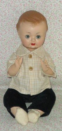 Antigua Muñeca español llamado Pepin; cuerpo de cartón piedra y cabeza de celuloide Antique Spanish doll called Pepin; papier mache body and head celluloid