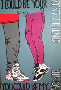 """Jordans""  for sale $500 please contact artist if interested Shon.lieberman@gmail.com"