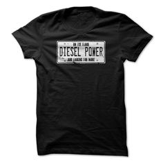 On the floor and looking for more  Order HERE ==> https://sunfrog.com/Automotive/diesel-power-trucker-shirt-license.html?29538  Please tag & share with your friends who would love it   #superbowl #renegadelife #birthdaygifts