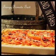 Tangy Tomato Tart (Pie) Allrecipes.com