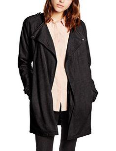 GGTBOUTIQUE Cappotto da Donna Nero Nero L | Giacche e