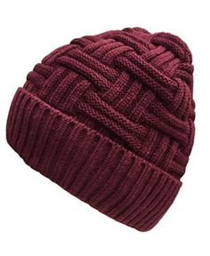 Loritta Men's Winter Thick Knit Skull Cap Daily Wool Warm Slouchy Beanie Hat -- Awesome products selected by Anna Churchill Best Winter Hats, Winter Hats For Men, Knitting Wool, Baby Knitting, Knitting Patterns, Mens Winter Beanies, Knitted Hats, Crochet Hats, Best Stocking Stuffers
