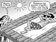 Kartun Benny, Kontan - Desember 2014: Benny Rachmadi - Pilihan Liburan Murah