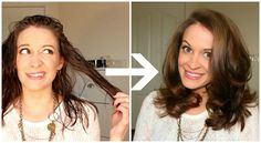 How To Get Volume & Curls Using Hot Rollers! ❤