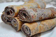 Máklisztes palacsinta áfonyalekvárral vagy édes fahéjjal párolt almareszelékkel. Gluténmentesen is elkészíthető