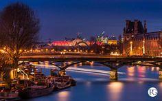 Le Pont des Arts et la rive droite, Paris
