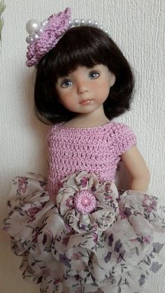 "Outfit for doll 13"" Dianna Effner Little Darling hand made #DiannaEffner"