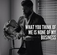 None of my buisness.