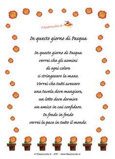 pasqua poesie per bambini - Cerca con Google
