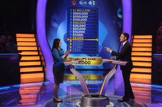 """Today, Michelle Moreno takes it one question at a time on an all-new #MillionaireTV. And she plans to not just take home a jackpot for herself, but also win money to benefit Shriners Hospitals for Children. Don't miss Thursday's """"Millionaire"""" with host Chris Harrison. Go to www.millionairetv.com for time and channel to watch."""
