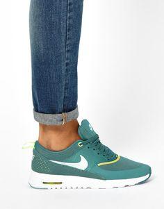 Nike | Nike Air Max Thea Teal Sneakers at ASOS