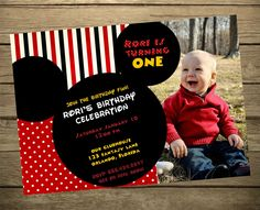 Mickey Mouse Clubhouse Birthday Party Invitation Wording
