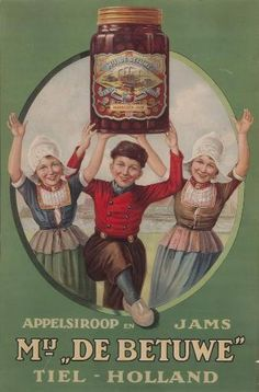 Vintage Advertising for Apple Butter