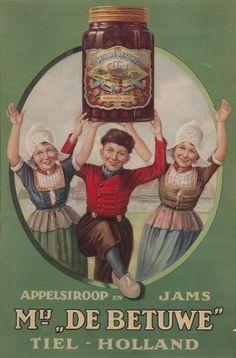 Vintage Advertising for Apple Butter