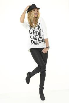 Rock'n'love de la #mode #eroscollection #rock #look