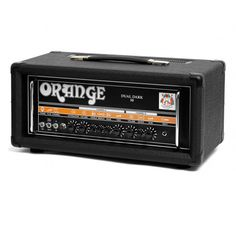 The Orange Dual Dark 50 is one of Orange's highest gain amps that packs up to 50 watts of power into a small enclosure. They are both flexible and aggressive at the same time. Serve up clean or massiv