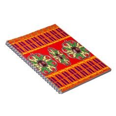 Saffron Red Holy Color Energy Healing Jewels India Notebook - Xmas ChristmasEve Christmas Eve Christmas merry xmas family kids gifts holidays Santa