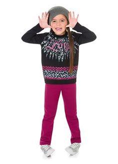 News News!!  Conjunto Moletom Love Preto e Calça para as princesas maiores do tamanho 4 ao 10.  Venha conferir em: http://www.purezababy.com.br/conjunto-brandili-moletom-love-preto-e-calca