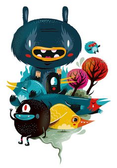 Calendar illustration | Illustrator:     Christian Lindemann - http://www.lindedesign.de