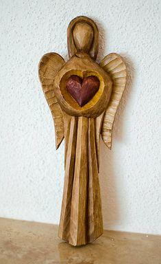 NeckoArt / anjel so srdcom