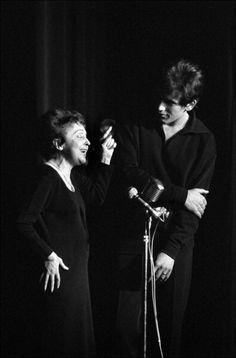 Edith Piaf and Theo Sarapo