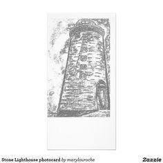 Stone Lighthouse photocard