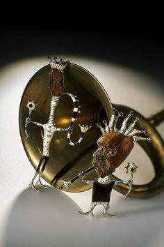 Guntis Lauders brooch