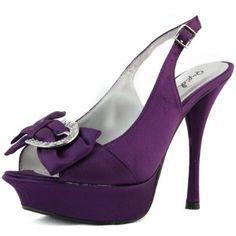 54c81f1fe73 Qupid Women s Aja-34 Lip Stick Satin Platform Shoes