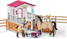 Schleich Horse Riding Sets and Accessories. Wonderland Models are an Online Model Shop specialising in Schleich Horse Riding Sets and Accessories. Purchase your models online for the best savings. Schleich Horses Stable, Breyer Horses, Arabian Horses, Horse Stalls, Horse Barns, Horse Grooming, Dog Toys, Toy Dogs, Horse Riding
