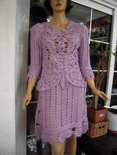 MADE TO ORDER Handmade crochet set of top and skirt by GoldenYarn