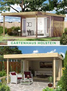 Die 46 besten Bilder von Gartenhaus mit Terrasse in 2019 ...