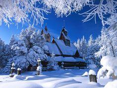 Terra/Natura Winter  Sfondo