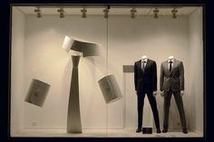VM | Window Visual Merchandising | VM | Window Display | The man of elegance at De Fursac, Paris